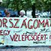 Női tüntetés a bős-nagymarosi vízlépcsőrendszer megépítése ellen