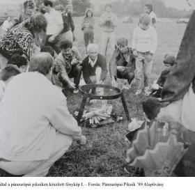 Lobenwein Tamás által a Páneurópai pikniken készített fénykép I.