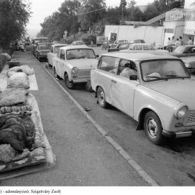 NDK-s menekültek Hegyeshalomnál III.