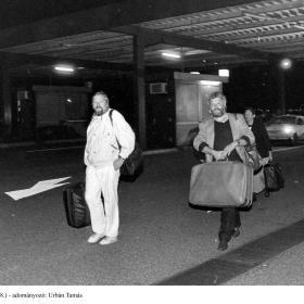 NDK-s menekültek Hegyeshalomnál V.