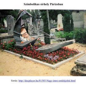 Szimbolikus sírhely Párizsban