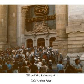 TV székház, Szabadság tér