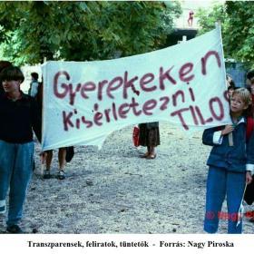 Transzparensek, feliratok, tüntetők II.