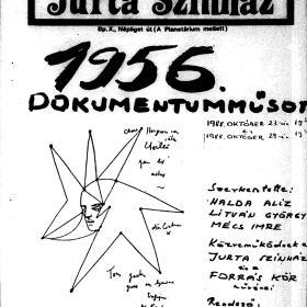 Jurta Színház plakátja