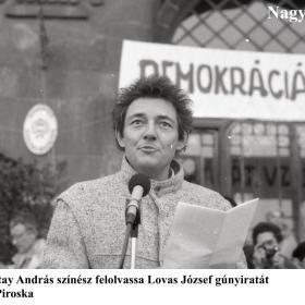 Sinkovits-Vitay András színész felolvassa Lovas József gúnyiratát