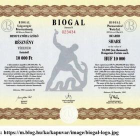 Újraértelmezett emlékmű, a Biogal embléma