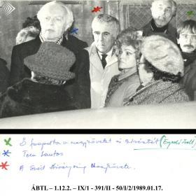 Enyedi Zsolt, Tom Lantos és Anders Ragnar Dromberg