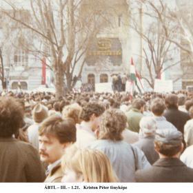 Tüntetés a Szabadság-téren