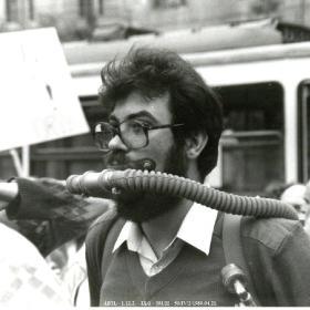 Az 1989. április 21-i demonstráció egy résztvevője II.
