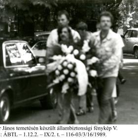 Kádár János temetén készült állambiztonsági fénykép V.