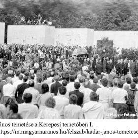 Kádár János temetése a Kerepesi temetőben I.