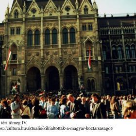 A Kossuth téri tömeg IV.