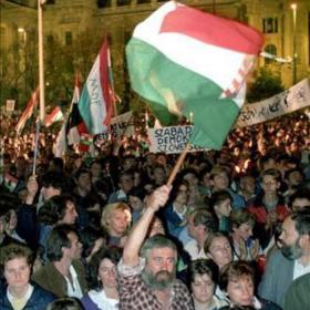 Az első szabad október 23-a, Kossuth tér I.