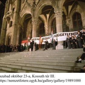 Az első szabad október 23-a, Kossuth tér III.