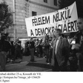 Az első szabad október 23-a, Kossuth tér VII.