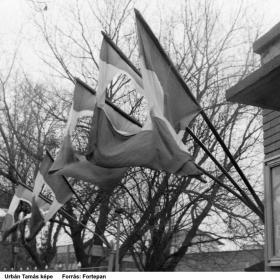 Forradalmi román zászlók, Temesvár, Strada Circumvalatiunii az ELTIM kazángyárnál
